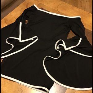 Dresses & Skirts - Super cute off shoulder bell sleeve mini